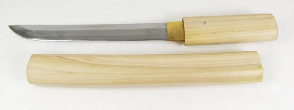 美術刀剣 日本刀 模造刀 白鞘 6寸 短刀/送料...