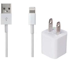 【送料無料】【iphone6 USBケーブル+コンセント 1...