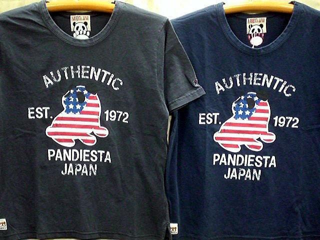 PANDIESTA JAPAN 半袖Tシャツ PND USA  パンデ...