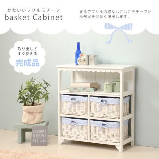 ★10/上入荷待ち★【送料無料】白家具【キャビネ...
