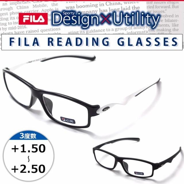 老眼鏡 FILA スポーティーデザイン リーディング...