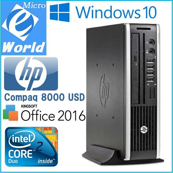Windows 10 送料無料 HP超小型スリムPC Compaq 80...