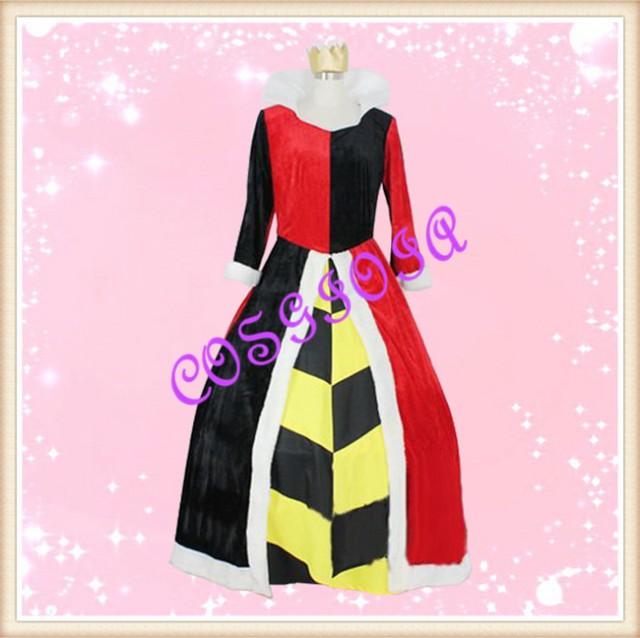 不思議の国のアリス ハートの女王 コスプレ衣装 ...