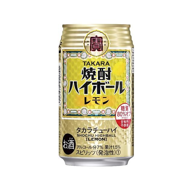 宝 焼酎ハイボール レモン 350ml 1ケース(24...