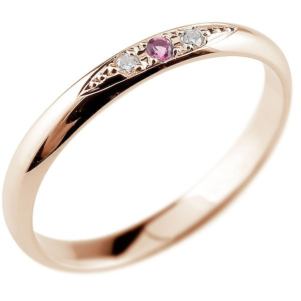 指輪 ダイヤモンド ピンクサファイア リング ピン...