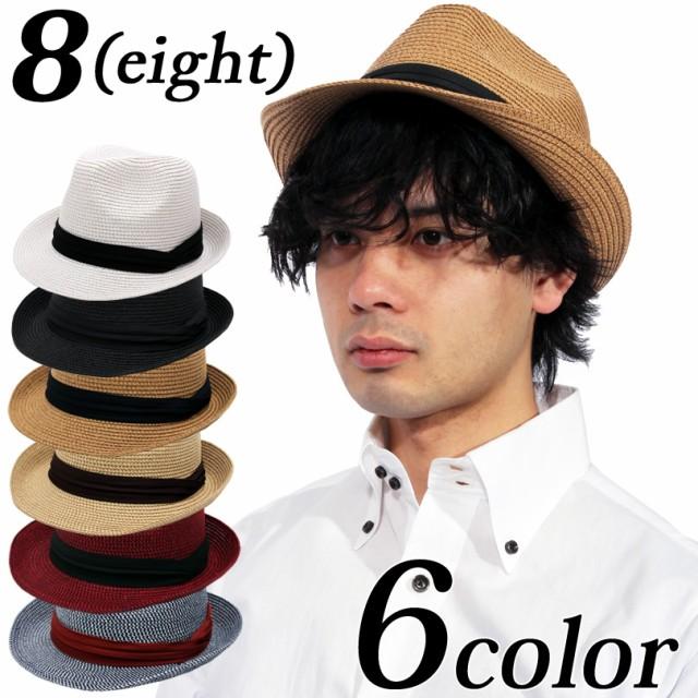 麦わら帽子 メンズ レディース ハット 帽子 全6色...
