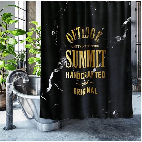 シャワーカーテン バスカーテン モノトーン 2色 2...