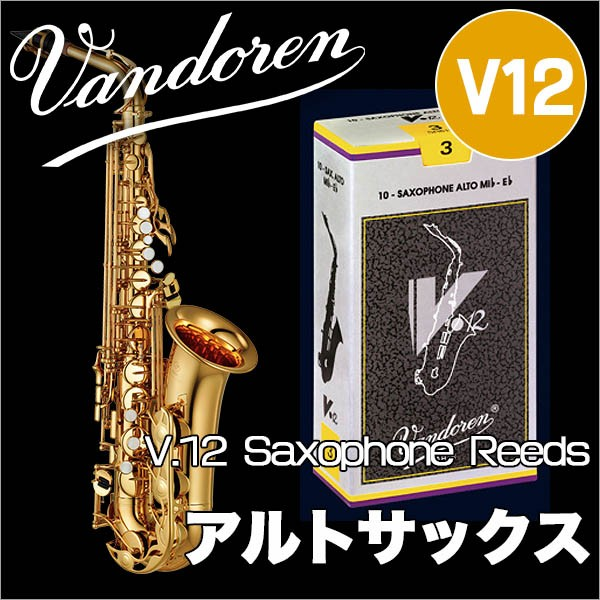 Vandoren/アルトサックスリード V12 10枚入 【銀...