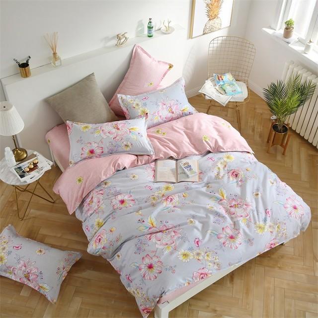 大特価  寝具カバー 4点セット 柔らか優しい肌触...
