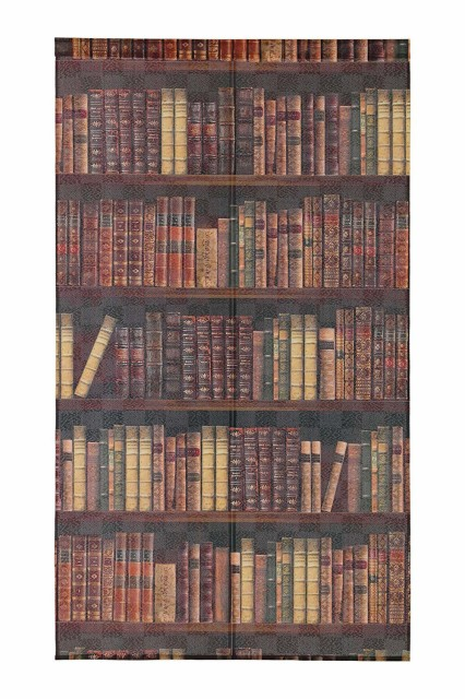 のれんBOOK SHELF サイズ:85×150cm 本棚 タペ...