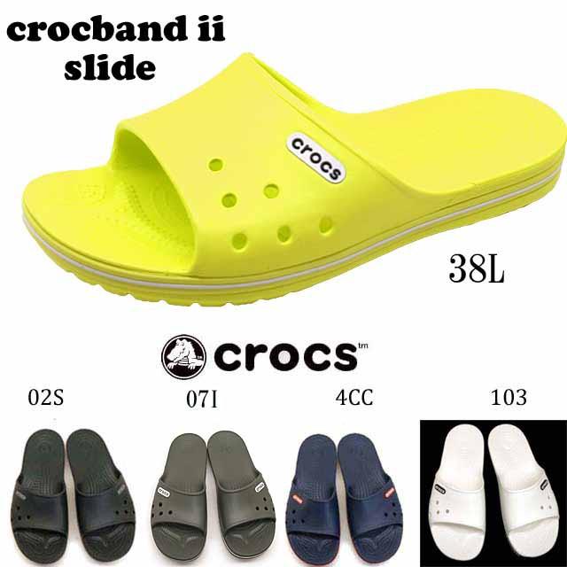 クロックス crocs Crocband II Slide 204108 クロ...