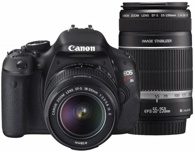 Canon デジタル一眼レフカメラ EOS Kiss X5 ダブ...