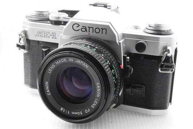 canon AE-1 FD 50mm f1.8.付き