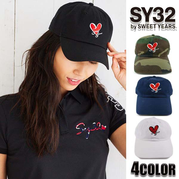 SY32 by SWEET YEARS キャップ ハート CAP 帽子 8...