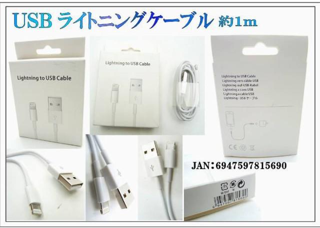 iPhone充電ケーブル ライトニングケーブル iOS9 ...