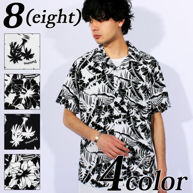 送料無料! アロハシャツ メンズ 半袖シャツ 全5...