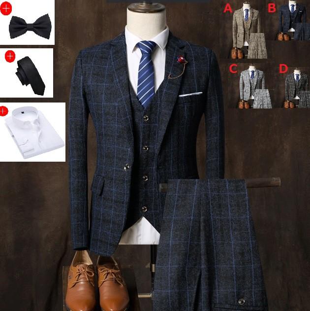 紳士用20代30代 3ピーススーツ メンズ 上下セット...