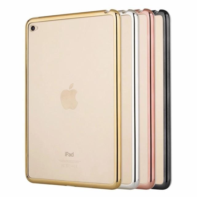 New iPad 9.7 2018用クリアソフトケース/透明シリ...