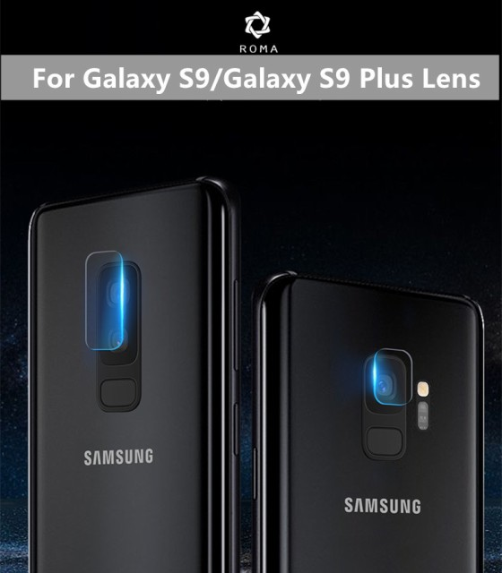 Samsung Galaxy S9/Galaxy S9 Plus用レンズ用強化...