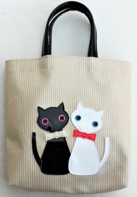 日本製 ミニトートバッグ レディース 猫グッズ 雑...