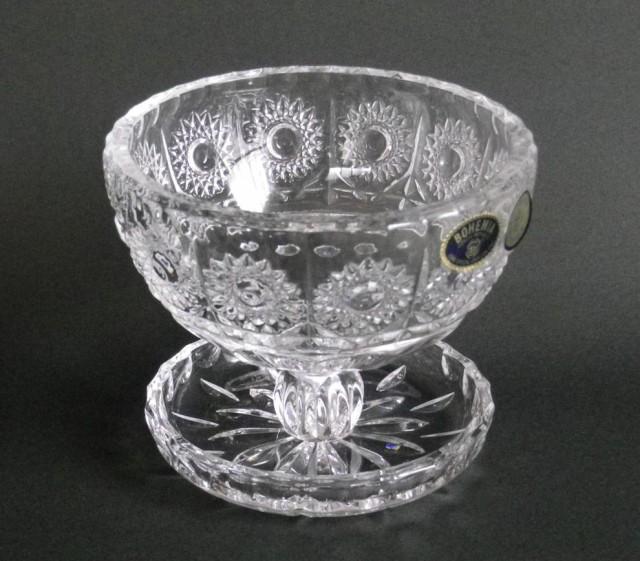 ボヘミアングラス  クリスタル デザートグラス ...