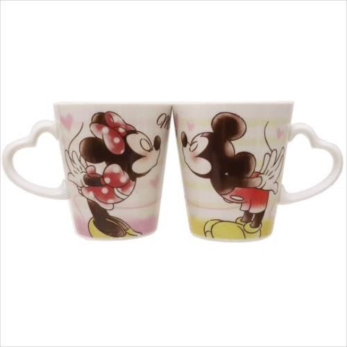 ◆ミッキー&ミニー  ペアマグ 2個セット  (ディ...