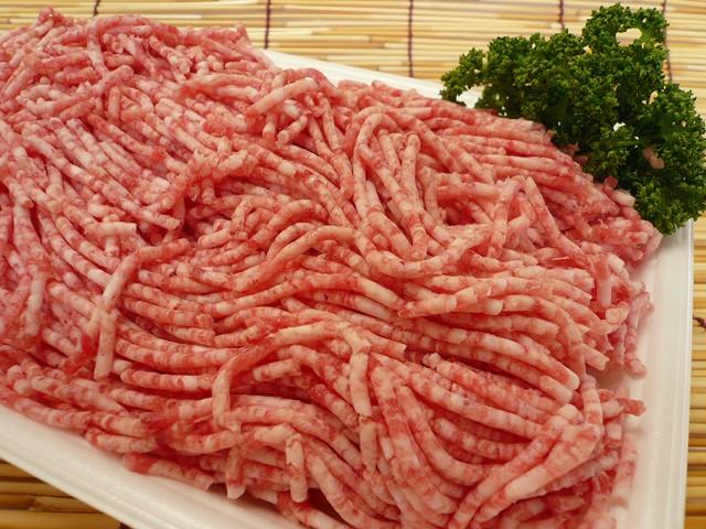 「訳あり」九州産 豚ミンチ(豚挽肉)[約500g]【...