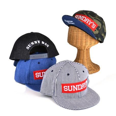 【帽子 キャップ】男女兼用◆SUNDAYSボックスロゴ...