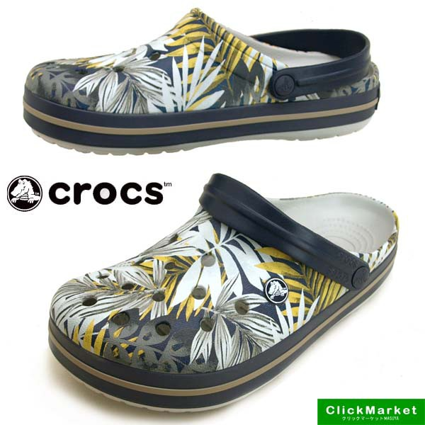 クロックス crocs crocband graphic clog 204553-...