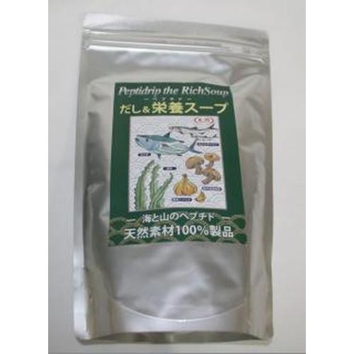 天然ペプチドリップ だし&栄養スープ 500g 【無...