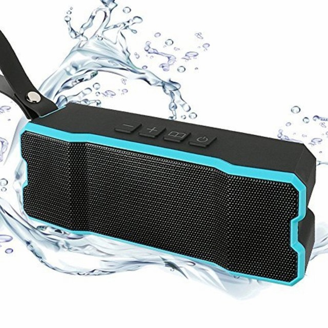Bluetooth4.1 ワイヤレススピーカー IPX7防水&防...