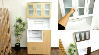 収納 収納家具 食器棚 キッチン キッチン収納【パ...