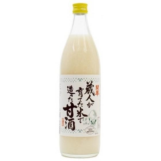 開華 蔵人が育てた米で造った甘酒 900ml 12本入り...