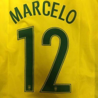 大人用 A012 18 ブラジル MARCELO*12 マルセロ 黄...