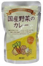 ムソー 国産野菜のカレー・甘口 200g お得な10個...