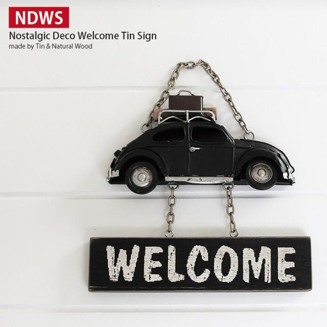 WELCOME プレート (ウェルカムプレート) VW ビ...