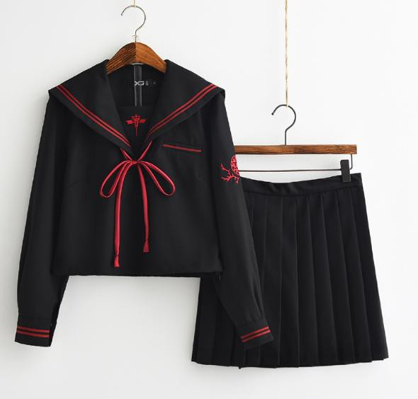 秋冬コスプ可愛いセーラー服長袖制服コスプレ可愛...