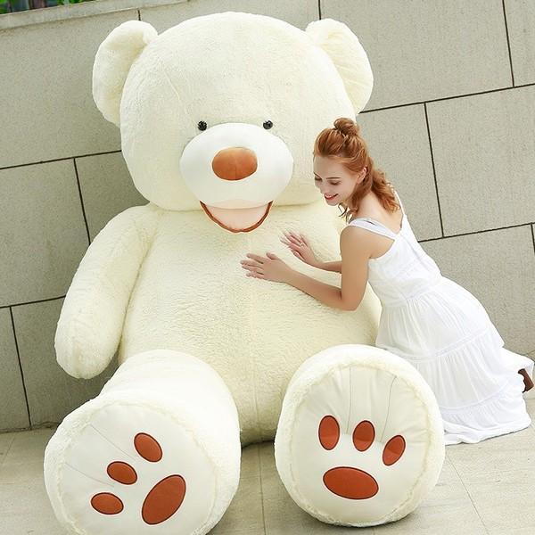 ぬいぐるみ 特大 くま/テディベア 可愛い熊 動物 ...