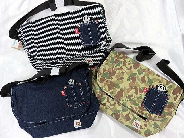 PANDIESTA JAPAN 熊猫謹製  ミニメッセンジャー...