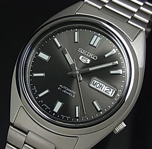 SEIKO/セイコー 自動巻 メンズ腕時計【SEIKO5/セ...