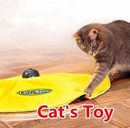 猫 おもちゃ 電動 自動 回転  猫じゃらし ねこ ペ...