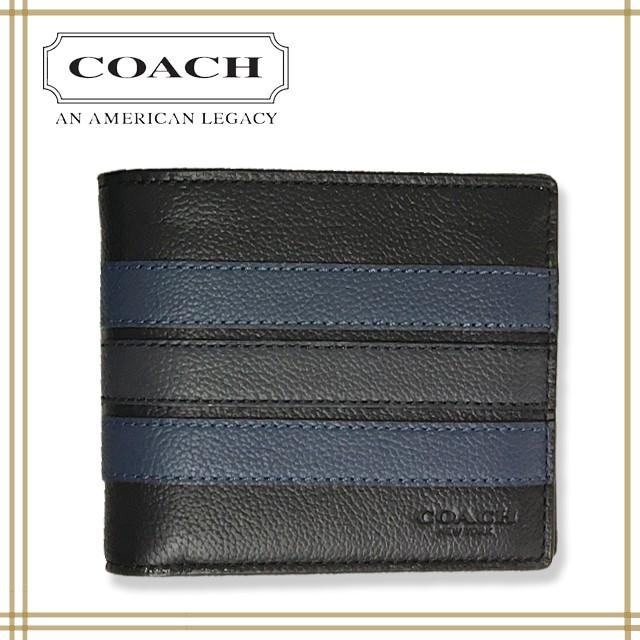 COACH コーチ メンズ 二つ折り 財布 F24649 N3E ...