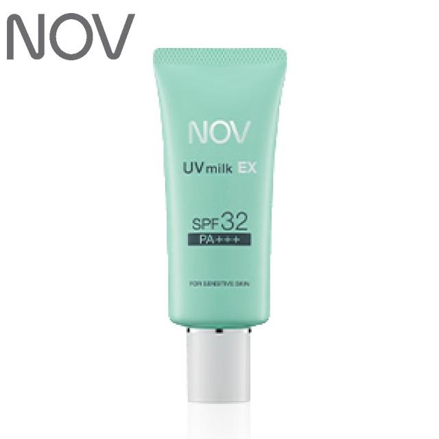 NOV ノブ UVミルクEX 35g SPF32 PA+++  低刺激性日焼け止めミルク(医薬部外品)