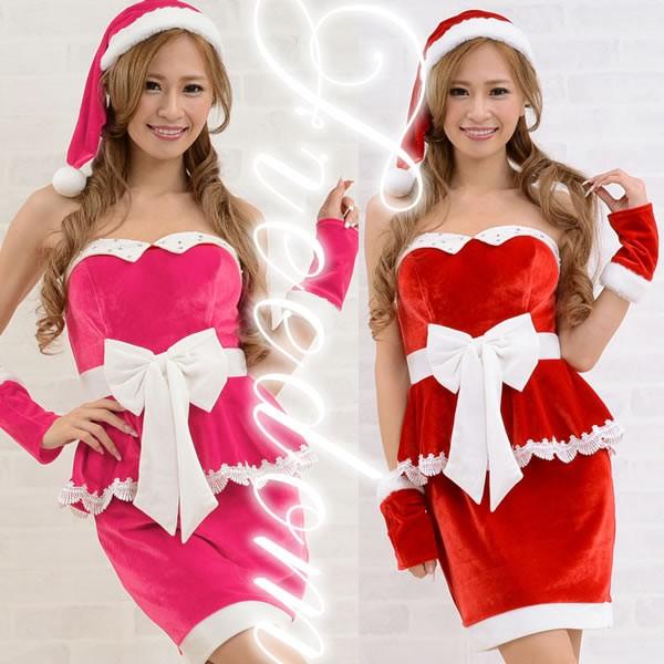 セール クリスマス サンタ コスプレ 衣装★ウエス...