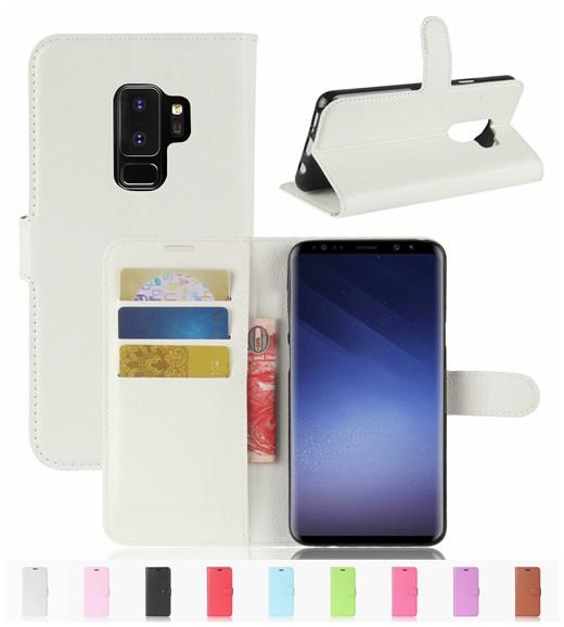 ギャラクシー Galaxy S9 Plus/Galaxy S9+用レザー...