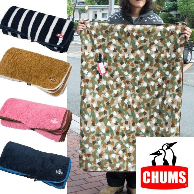 CHUMS(チャムス) フリース エルモ ブランケット ひざ掛け CH62-1141