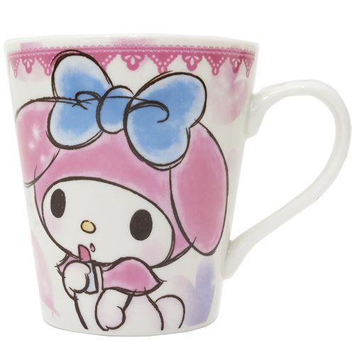 ◆マイメロディファジー柄マグカップ(ハート) ...