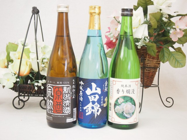 日本酒福袋決定版 (頚城酒造完熟原酒 金鯱吟醸原...