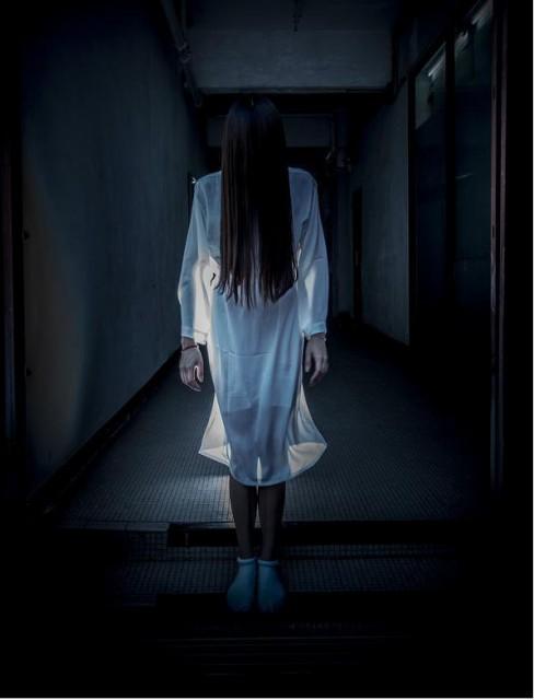 怨霊の女 鬼女(衣装+ウィッグ セット)仮装 ハロ...