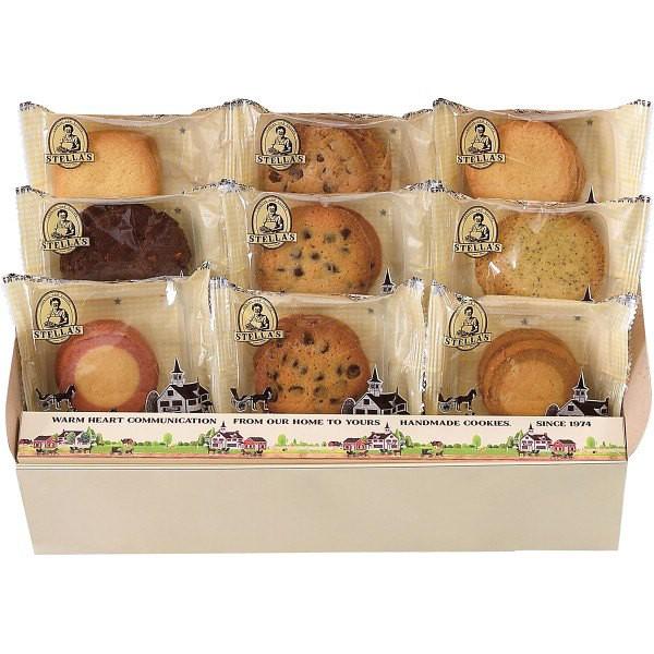 送無ステラおばさんのクッキー ●アントステラ ステラズクッキー(18枚)/洋菓子/母の日/敬老の日/父の日/プレゼント/